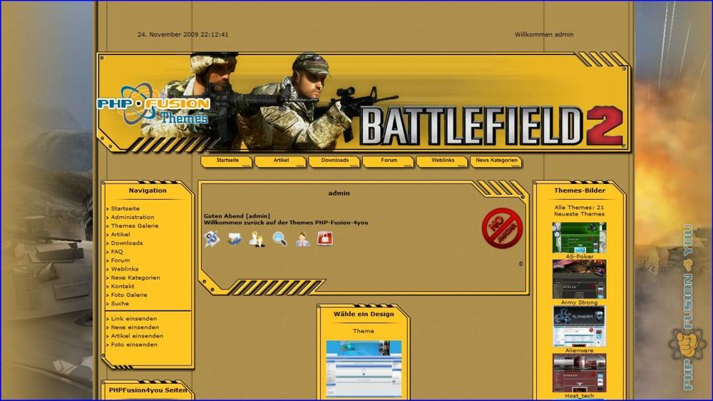 Screenshot Battlefield 2