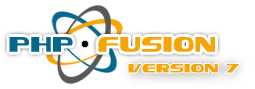 Screenshot PHP-Fusion Core
